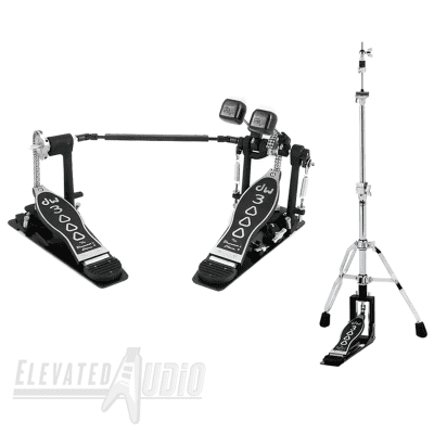 DW 3000 Series 2-Leg Hi-Hat Stand + Double Bass Drum Pedal! Buy from CA's #1 Dealer Today!