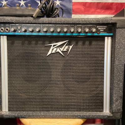 Peavey Backstage Chorus 208 50-Watt 2x8 Guitar Combo 1996  *Blue Stripe*