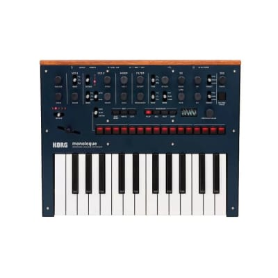 Korg Monologue Dark Blue Monophonic Analogue Synthesizer Now in Stock!