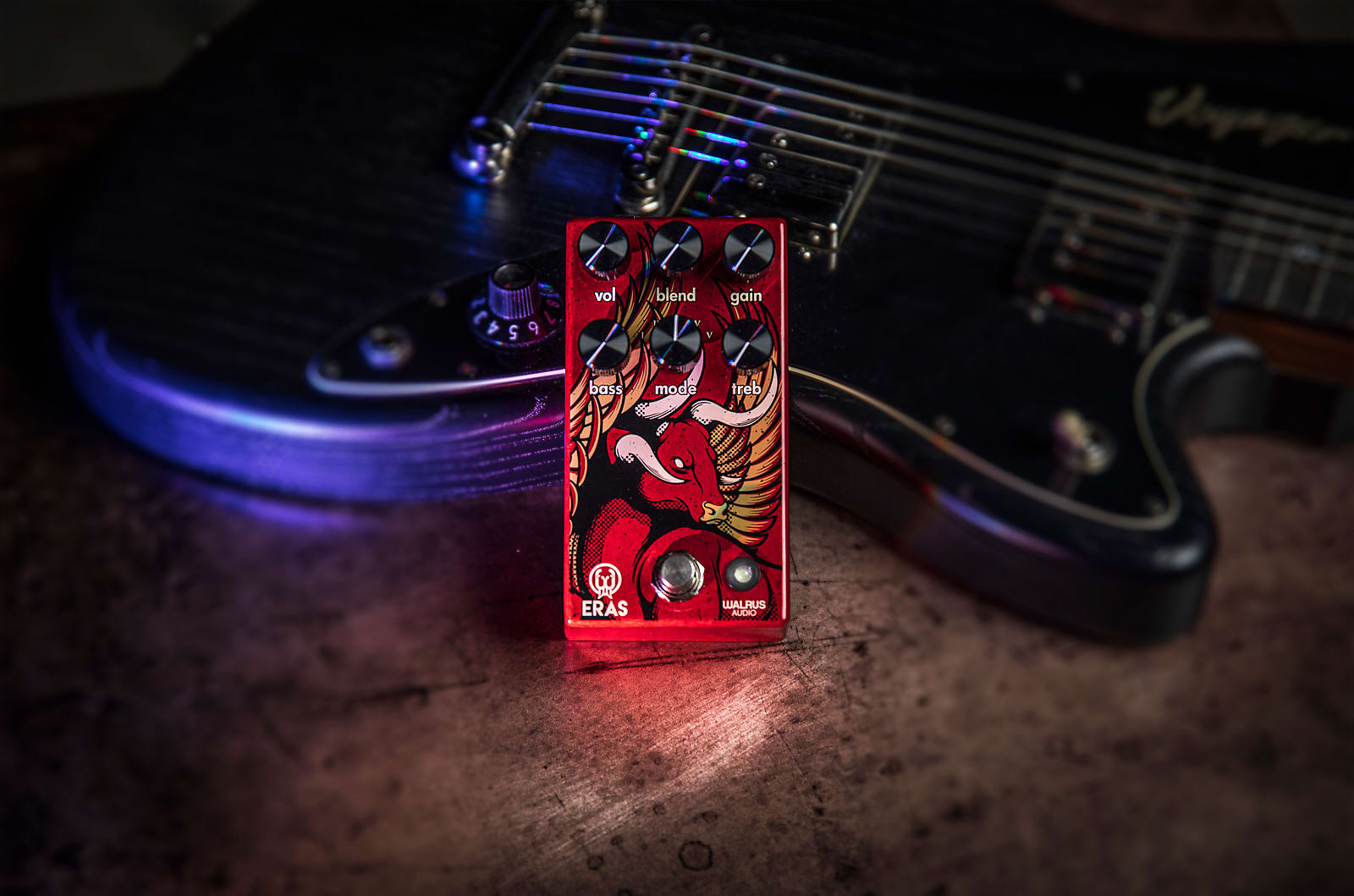 Walrus Audio Eras Five-State Distortion Effects Pedal