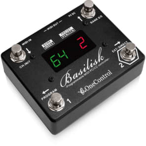 One Control Basilisk Programmable MIDI Controller Footswitch