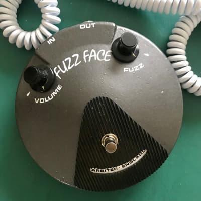 Arbiter  Fuzz Face Silicon BC183 2021 Dominion Dark Grey Light Relic Serial #2 Boutique Fuzz Hendrix for sale