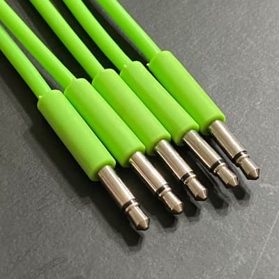 Eurorack Patch Cable 24 inch (5pcs) Green