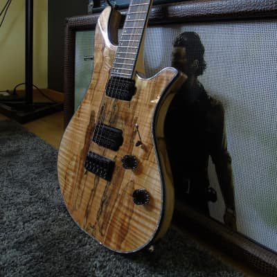 Overload  Rea 6 spalted maple Natural Gloss for sale