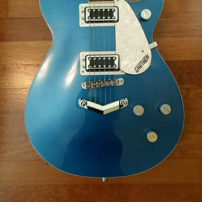 Gretsch G5435 Limited Edition Electromatic Pro Jet with V-Stopbar Fairlane Blue 2017