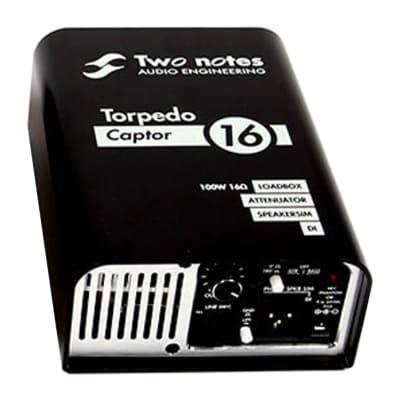 Two Notes Torpedo Captor Loadbox / Attenuator / DI - 16 Ohm
