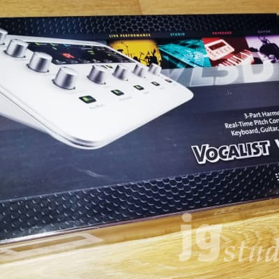 DigiTech Vocalist VL3D Desktop Vocal Harmony and Effects Processor - New in Box!