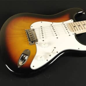 Fender Custom Shop 2014 Proto Stratocaster - Maple Fingerboard - Faded 3-Color Sunburst (739) for sale