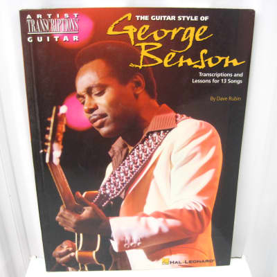 George Benson The Guitar Style of Sheet Music Song Book Tab Transcriptions