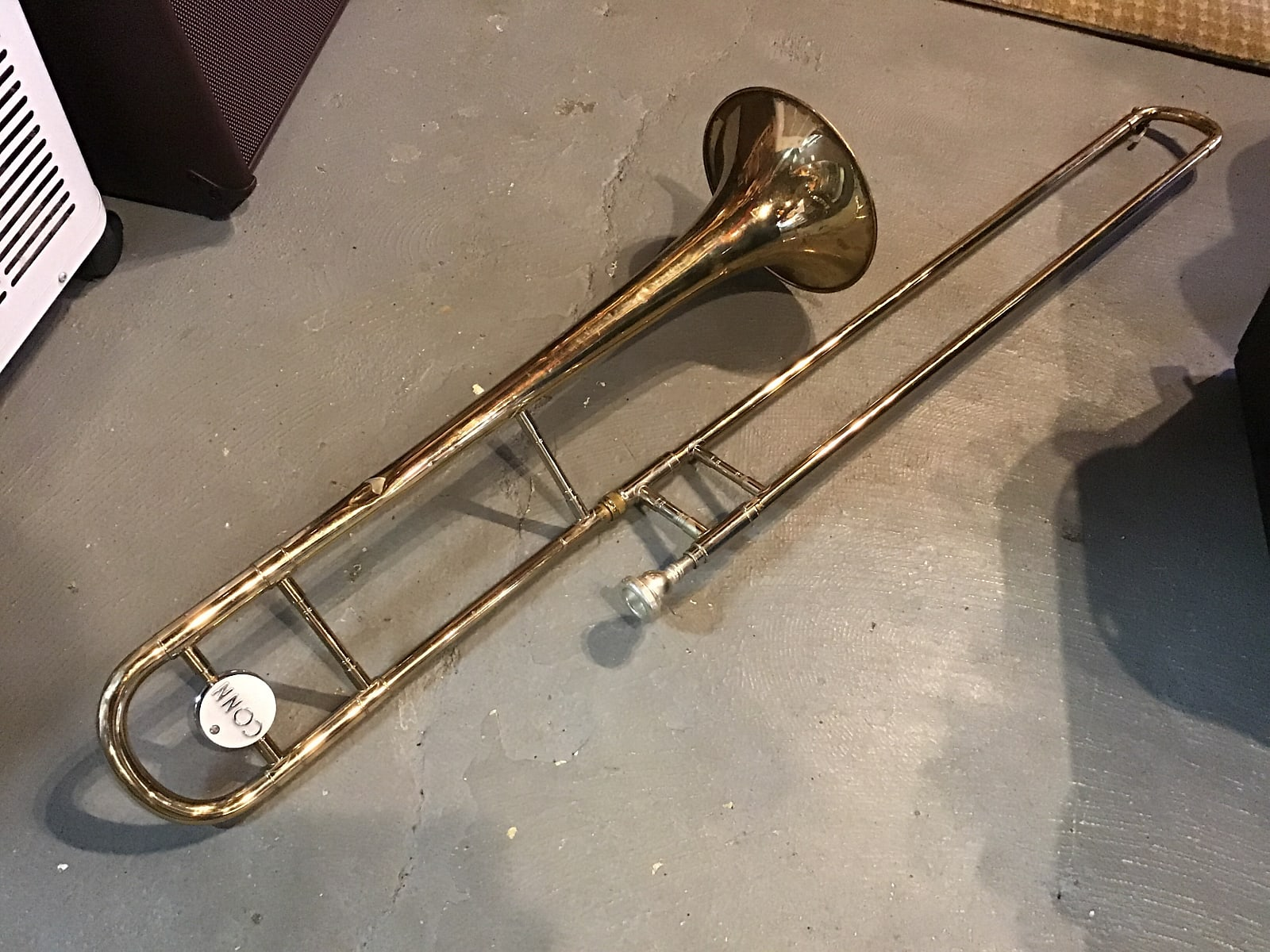 Conn Director Vintage Trombone w/ Case and Mouthpiece