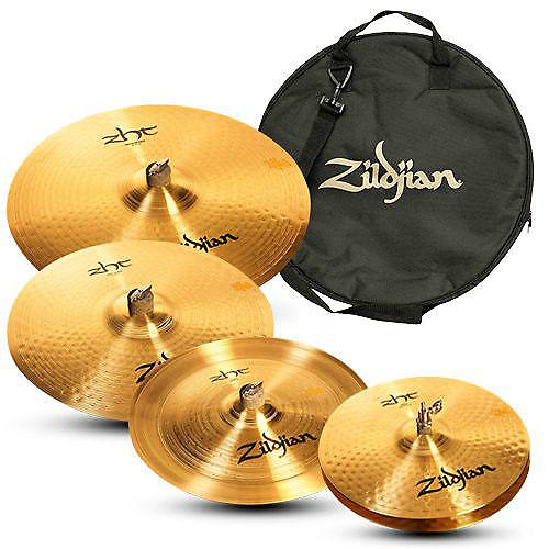 zildjian zht 5 piece cymbal pack w zildjian cymbal bag hats reverb. Black Bedroom Furniture Sets. Home Design Ideas