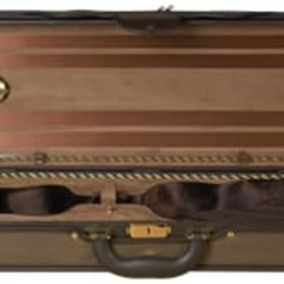 Baker Street deluxe violin case brown