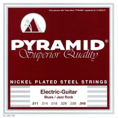 Pyramid Electric Nickel Plated Steel Strings 11-48
