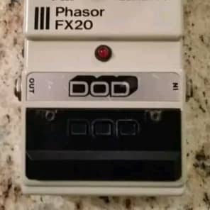 DOD FX20 Phasor Analog Phaser Vintage Guitar Pedal Stompbox Digitech Flanger. Made In USA! Rare! for sale