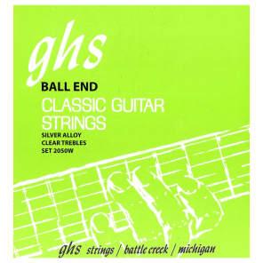 GHS 2050W Ball End Regular Classical Guitar Strings - High Tension