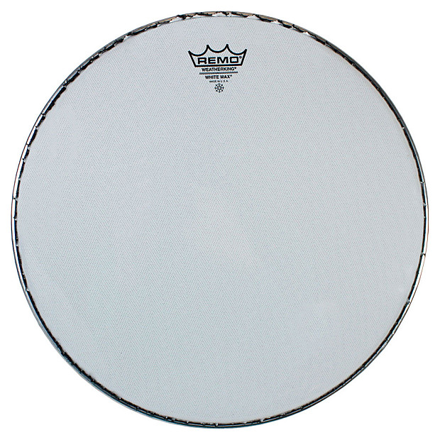 remo white 13 max marching snare drum head geartree reverb. Black Bedroom Furniture Sets. Home Design Ideas