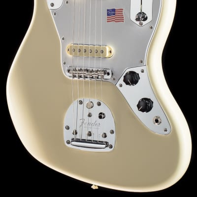 Fender Johnny Marr Jaguar® Olympic White (938) for sale