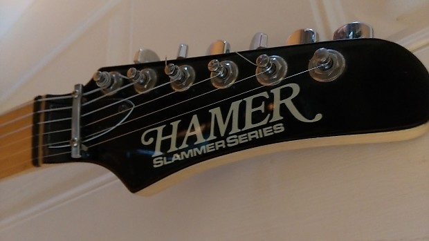 Electric solid body Hamer Telecaster copy 1990s Slammer Series 2 Color  Sunburst