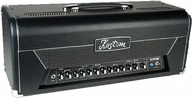 Kustom HV100THD HYBRID-TUBE HV100W Guitar Amplifier wi/ Effects 100-watt  guitar amp In-Stock