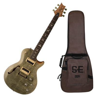 PRS SE Zach Myers Semi-Hollow Electric Guitar with Gig Bag (2017 Model)