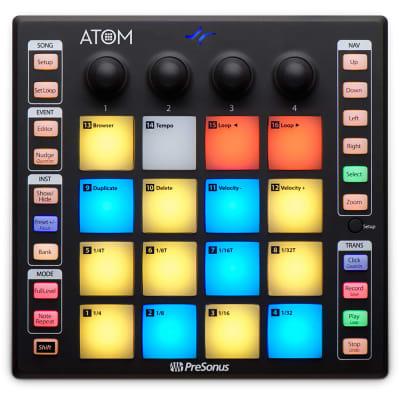 Presonus Atom Portable Versatile Production and Performance Pad Controller