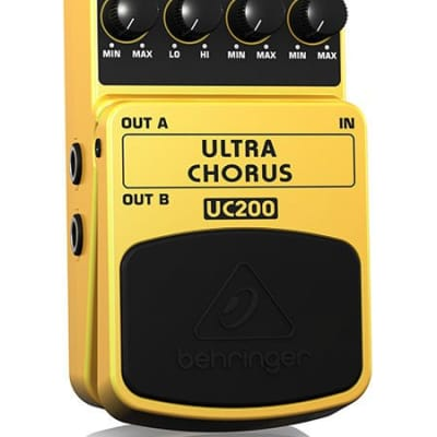 Behringer UC200 Ultimate Stereo Chorus Effects Pedal for sale