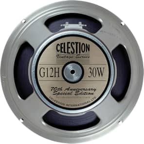 "Celestion T4534 G12H 70th Anniversary 12"" 30-Watt 16 Ohm Replacement Speaker"