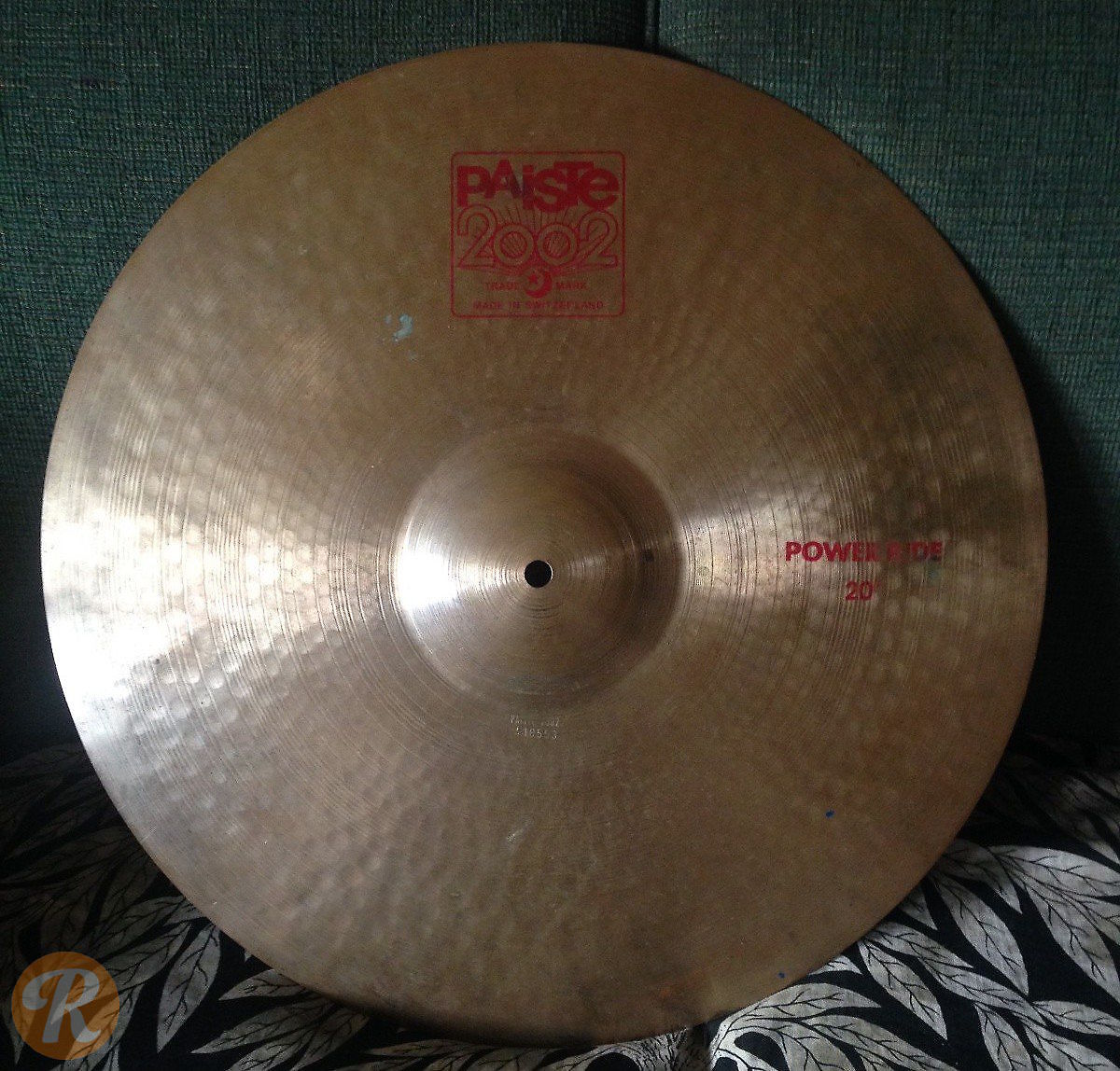 paiste 20 2002 power ride cymbal reverb. Black Bedroom Furniture Sets. Home Design Ideas