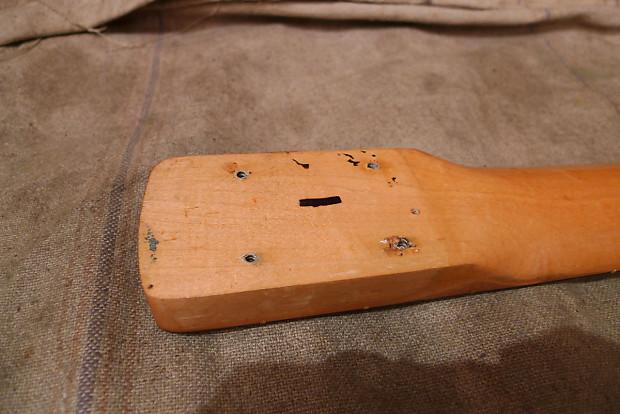 vintage fender bass neck