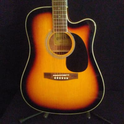 Indiana I-TB2VB Vintage Burst Thin Body Accoustic/Electric for sale