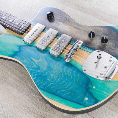 Prisma Toledo Guitar, McNelly P90 Pickups, Brazilian Walnut Fretboard for sale