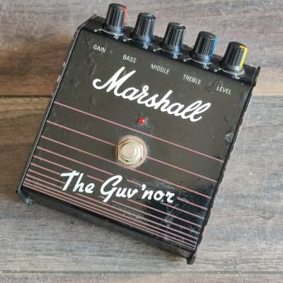 1980's Marshall Guv'nor Distortion Vintage Effects Pedal for sale