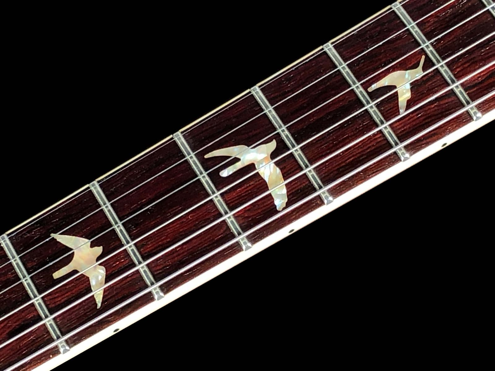 2018 Paul Reed Smith McCarty 594 Semi-Hollow Wood Library 10 Top w Single F Hole ~ Orange Tiger