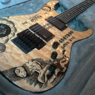 ESP LTD KH-Ouija Kirk Hammett Signature Natural