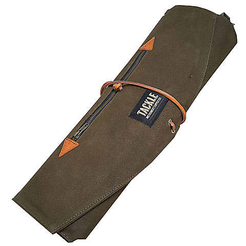tackle instrument supply co waxed canvas roll up stick bag reverb. Black Bedroom Furniture Sets. Home Design Ideas