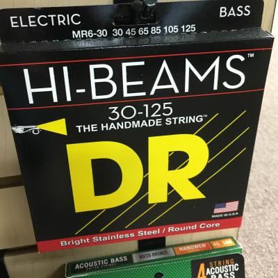 DR MR6-30 Hi Beam 6-String Bass Strings - Medium (30-125)