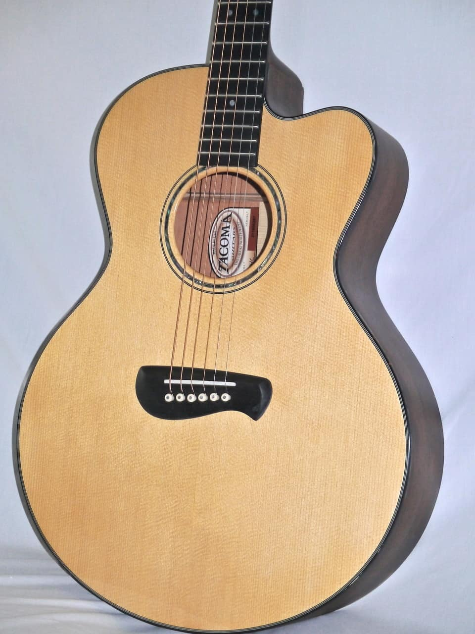 tacoma em14c acoustic guitar with case made in usa reverb. Black Bedroom Furniture Sets. Home Design Ideas