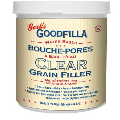 CLEAR -Water-Based Grain Filler - 1 Gallon