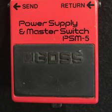 Boss PSM-5 Powersupply pedal and Master Switch (Pre-Owned)