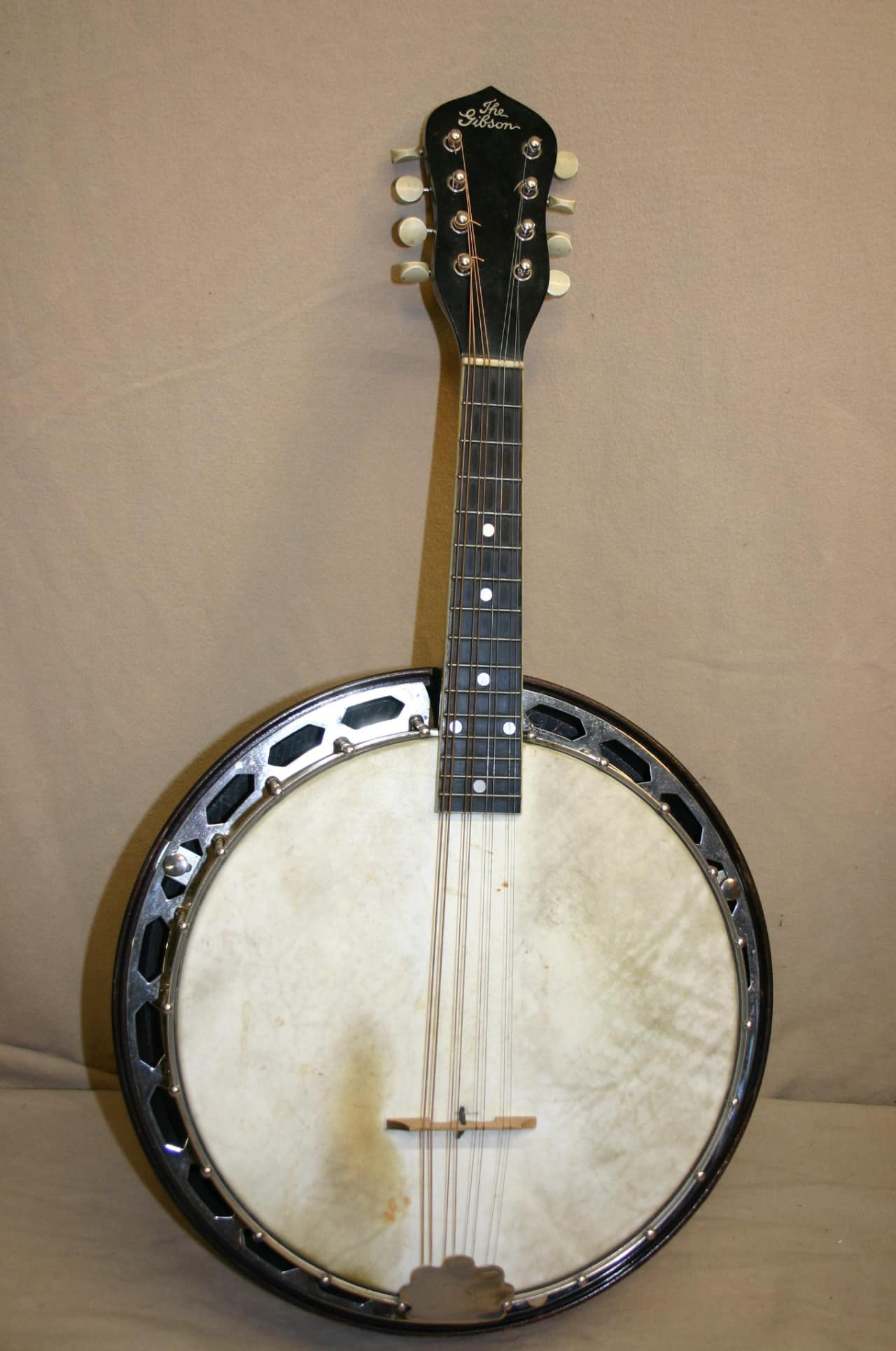 gibson banjo mandolin vintage 1920s all original with ohsc reverb. Black Bedroom Furniture Sets. Home Design Ideas