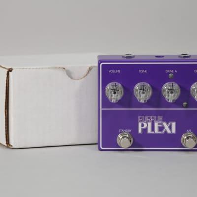 Lovepedal Purple Plexi LE Overdrive Distortion Pedal