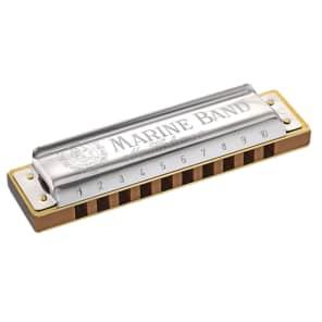 Hohner 1896BX-EF Marine Band 1896 Classic Harmonica - Key of Eb
