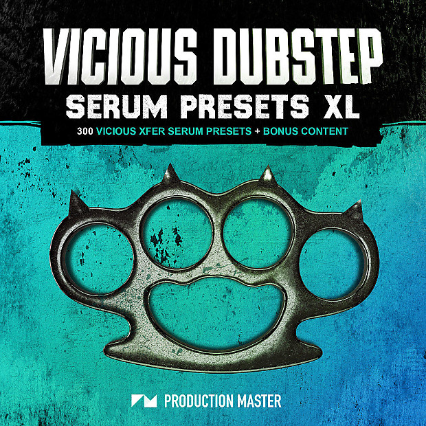 Black Octopus Sound Vicious Dubstep Serum Presets XL