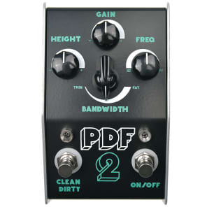 Stone Deaf PDF-2 Parametric Distortion Filter Pedal