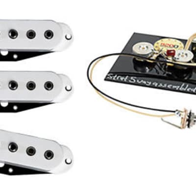 DiMarzio Area '61, '58, 67' Stratocaster Pickup Set + Free 5 Way Harness image