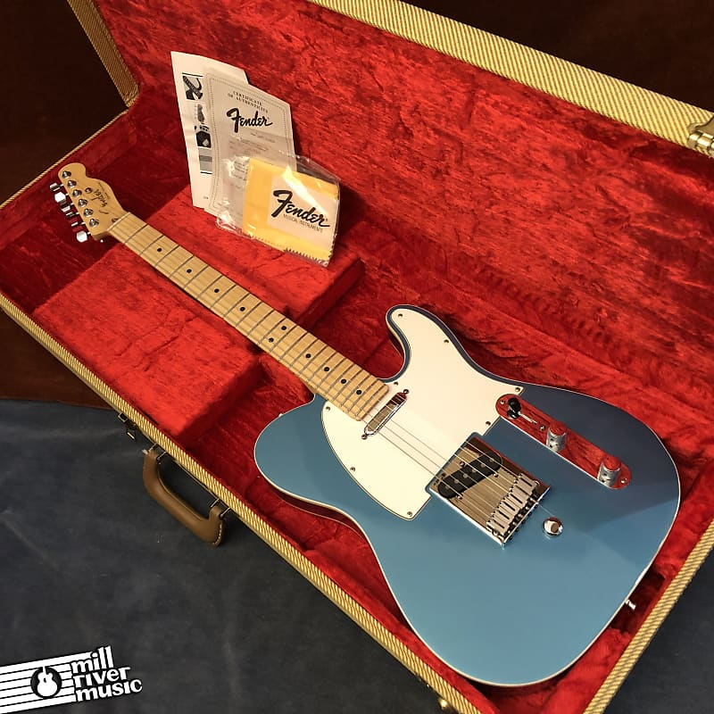 Fender Custom Shop American Standard Telecaster Lake Placid Blue B-Bender 1992 w/ OHSC