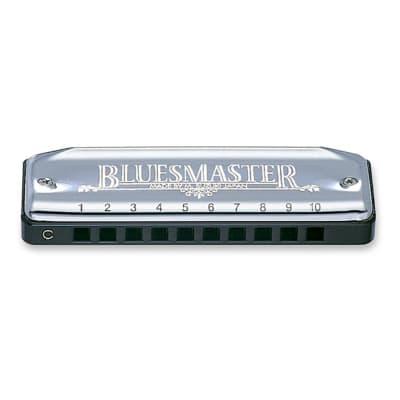 Suzuki MR-250 Bluesmaster Professional Blues Master Diatonic Harmonica, Key of A