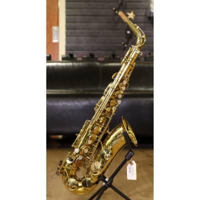 Selmer Mark VI Alto Saxophone Early 1960s Relacquered Brass