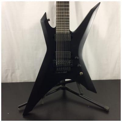 Ibanez XPTB720 Xiphos Iron Label 7-String Electric Guitar, Black Flat w/ Bag