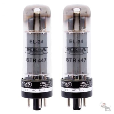 Mesa/Boogie EL-34/STR-447 Replacement Guitar Amplifier Tube Pair